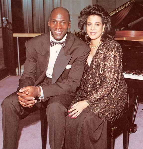 Juanita with husband Michel
